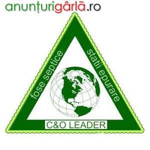 Imagine anunţ SC C& O LEADER SRL SISTEME DE EPURARE
