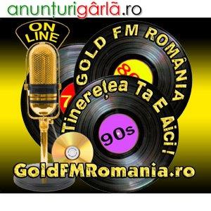 Imagine anunţ Asculta Live Muzica Anilor 70, 80, 90
