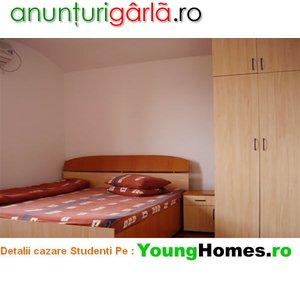 Imagine anunţ Cazare pentru Studenti in Camere si Garsoniere