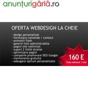 Imagine anunţ Creare site de prezentare - Webdesign profesional