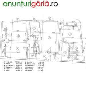 Imagine anunţ Inchiriere Apt. 3 camere ultracentral