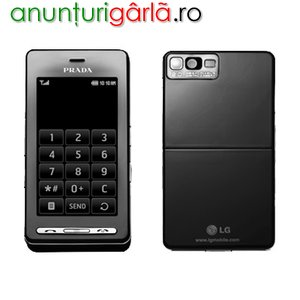 Imagine anunţ Promotie : LG KE850 PRADA Black Sigilate!