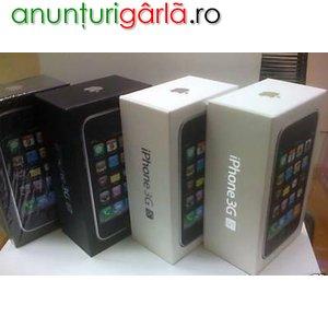 Imagine anunţ F/S: APPLE IPHONE 3GS 32GB, SAMSUNG OMNIA II 18000, NOKIA N97, HTC HERO.