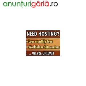 Imagine anunţ Gazduire Web gratuita si platita