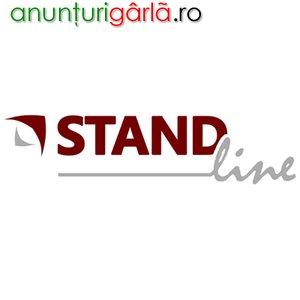 Imagine anunţ Standline srl - produce standuri metalice, din carton sau PVC