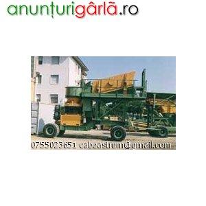 Imagine anunţ Vanzare utilaje constructii import CHINA