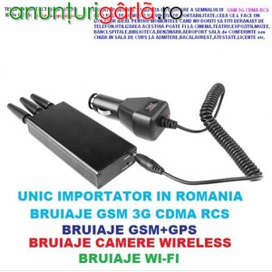 Imagine anunţ BRUIAJ R10 TELEFON MOBIL GSM 3G CDMA DCS PORTABIL (RAZA = 10 m)