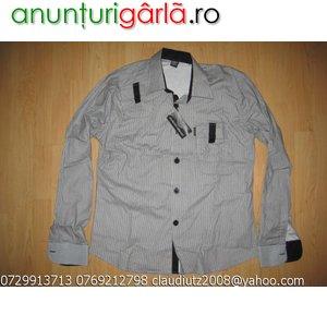 Imagine anunţ Camasi Levis Lacoste Zara Armani Versace D& G