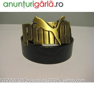Imagine anunţ Curele Curea Puma Nike Armani Versace D& G Gucci