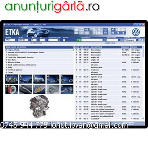 Imagine anunţ ETKA 2009 autoupdate
