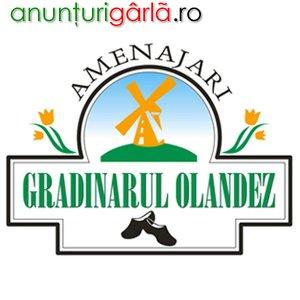 Imagine anunţ GRADINARUL OLANDEZ - Amenajari Gradini, Peisagistica 3D, Spatii Verzi, Vanzari Plante si