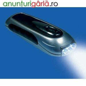 Imagine anunţ Lanterna fara baterii, cu dinam