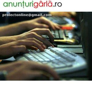 Imagine anunţ Promovator web - caut promovatori pt web siteuri - munca de la distanta
