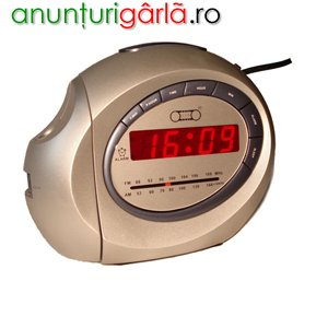 Imagine anunţ Radio ceas cu proiectie