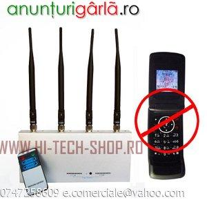 Imagine anunţ Statie Bruiaj Telefoane GSM Jammer Profesional