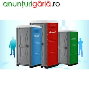 Imagine anunţ Toalete Ecologice, Sisteme Ecologice Sanitare, Toalete Mobile, Cabine de Toaleta,