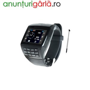 Imagine anunţ 640 lei, Telefon ceas dual sim Q8, la www.dualsim.ro