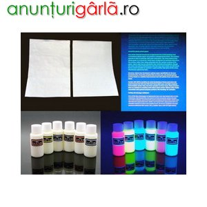 Imagine anunţ Cerneala UV invizibila pentru imprimanta ink-jet