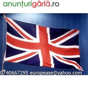 Imagine anunţ Engleza la tine acasa