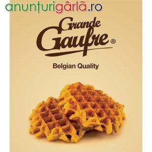 Imagine anunţ Franciza Grande Gaufre-Specialitate belgiana a gaufrelor