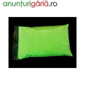 Imagine anunţ Pigment glow in the dark , fotoluminiscent, pentru efecte speciale deosebite