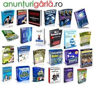 Imagine anunţ 1000 produse digitale cu drepturi de revindere !!!!