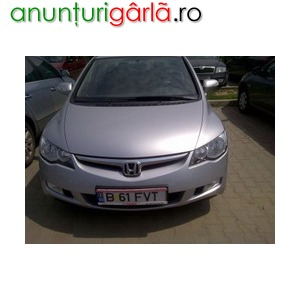 Imagine anunţ Vand honda civic sedan 1.8l, 140 cp, 2007, 10.500 euro