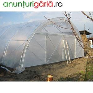 Imagine anunţ Vand solarii cu folie dubla - pret promotional structura