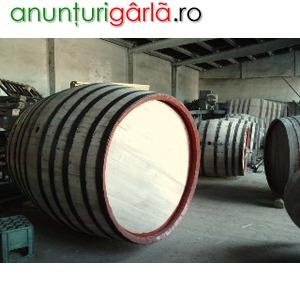 Imagine anunţ Reconditionez butoaie stejar incepand cu 225 litri