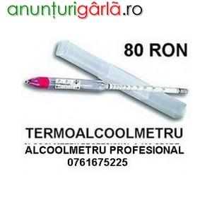 Imagine anunţ Termoalcoolmetre 0-100 grade
