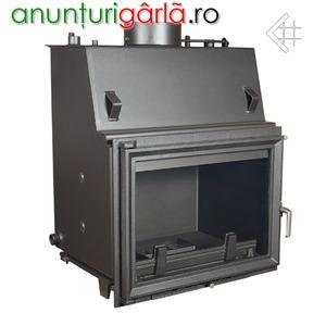 Imagine anunţ Vand focare semineu tip centrala pe lemne (termocamine, termoseminee)