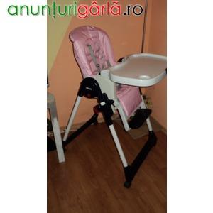 Imagine anunţ Vand scaun cu masa CHICCO MAMMA