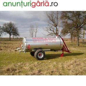 Imagine anunţ vidanje, cisterne din import cu garantie