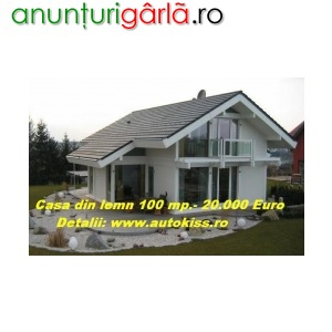 Imagine anunţ case din lemn ieftine autokiss.ro