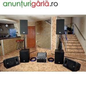 Imagine anunţ vand sistem audio dynacord