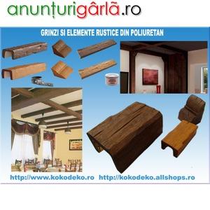 Imagine anunţ Grinzi si elemente rustice din poliuretan