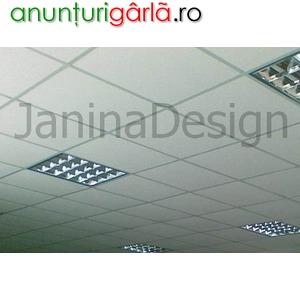 Imagine anunţ Montaj tavane casetate, spatii comerciale, birouri, case, etc.