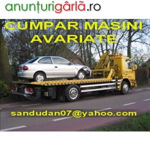Imagine anunţ CUMPAR AUDI A4 AVARIAT