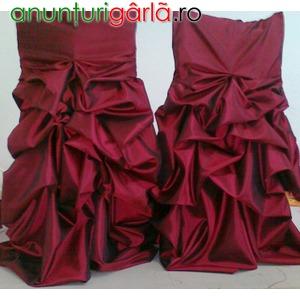 Imagine anunţ huse scaune festive pentru nunti de vanzare