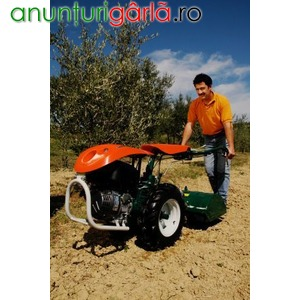 Imagine anunţ motocultoare doatate cu motoare LOMBARDINI