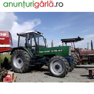 Imagine anunţ vind tractor Fendt Favorit
