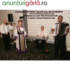 Imagine anunţ Formatie nunti, botezuri, petreceri private OVIDIU BAND