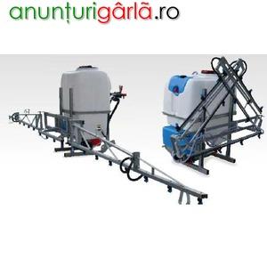 Imagine anunţ erbicidatoare pentru stropitul culturilor agricole