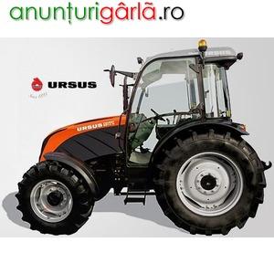 Imagine anunţ tractoare URSUS dotate cu motoare PERKINS
