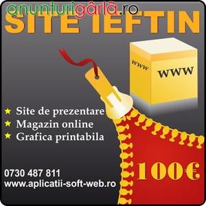 Imagine anunţ Creare site