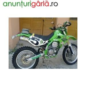 Imagine anunţ Vand cross Kawasaki 2001, klx 300, 1750 Euro bine intretinut