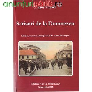Imagine anunţ Dragos Vitencu, Scrisori de la Dumezeu, Suceava, 2012