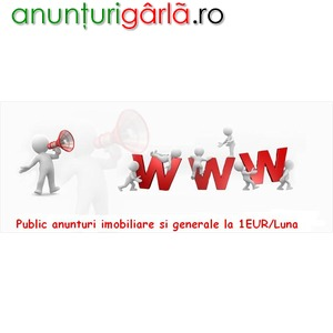 Imagine anunţ Public anunturi la cel mai mic pret de pe piata 1Euro