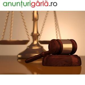 Imagine anunţ Consultatii juridice/infiintari societati comerciale