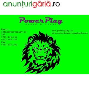 Imagine anunţ Sonorizare Constanta - Power Play